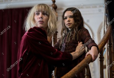Stock Picture of Mackenzie Davis as Kate Mandell and Brooklynn Prince as Flora Fairchild