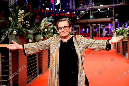Agnieszka Holland arrives for the premiere of 'Charlatan' during the 70th annual Berlin International Film Festival (Berlinale), in Berlin, Germany, 27 February 2020. The movie is presented in the Berlinale Special section at the Berlinale that runs from 20 February to 01 March 2020.