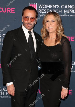 Tom Ford and Rita Wilson
