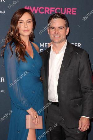 Ingrid Vandebosch and Jeff Gordan