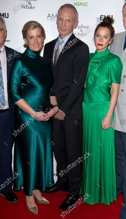 Stock Picture of Sophie Countess of Wessex, David Tait, Anna Friel and Alistair Petrie