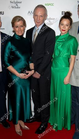 Stock Image of Sophie Countess of Wessex, David Tait, Anna Friel and Alistair Petrie