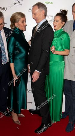Stock Photo of Sophie Countess of Wessex, David Tait, Anna Friel and Alistair Petrie