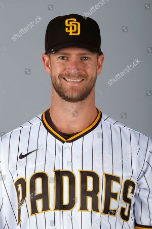 This is a 2020 photo of Chase Johnson of the San Diego Padres baseball team. This image reflects the Padres active roster as of when this image was taken