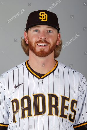 Stock Image of This is a 2020 photo of Steven Wilson of the San Diego Padres baseball team. This image reflects the Padres active roster as of when this image was taken