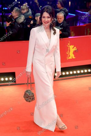 Iris Berben arrives for the Honorary Golden Bear gala during the 70th annual Berlin International Film Festival (Berlinale), in Berlin, Germany, 27 February 2020.