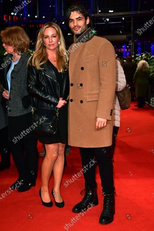 Stock Picture of Nik Xhelilaj (R) and guest arrive at the Honorary Golden Bear gala during the 70th annual Berlin International Film Festival (Berlinale), in Berlin, Germany, 27 February 2020. Helen Mirren received this years Honorary Golden Bear at the Berlinale.