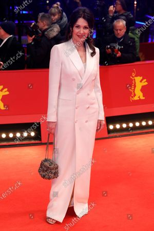 Iris Berben arrives for the Honorary Golden Bear gala during the 70th annual Berlin International Film Festival (Berlinale), in Berlin, Germany, 27 February 2020. Helen Mirren will receive this years Honorary Golden Bear at the Berlinale.