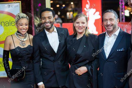 Stock Image of Joanna Kulig, Andre Holland, Amandla Stenberg and Alan Poul