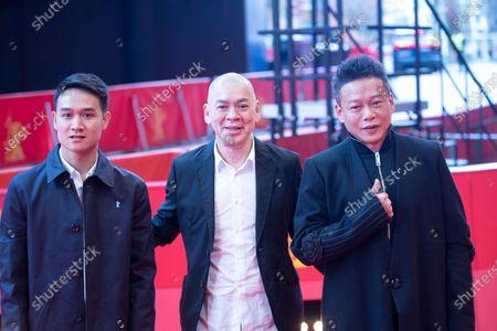 Anong Houngheuangsy, Tsai Ming-liang and Lee Kang-sheng