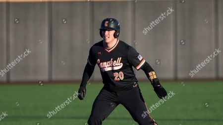 Campbell's Zach Williams (20) runs the bases during an NCAA baseball game, in Buies Creek, N.C