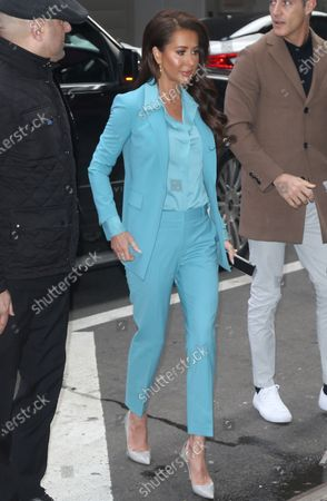 Editorial image of 'Strahan, Sara & Keke' TV show, New York, USA - 27 Feb 2020