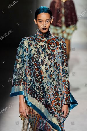 Editorial picture of Dries van Noten show, Runway, Fall Winter 2020, Paris Fashion Week, France - 26 Feb 2020