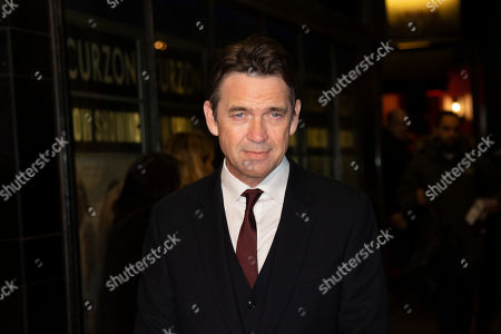 Dougray Scott poses for photographers upon arrival at the UK premiere of 'Sulphur and White' at a central London cinema