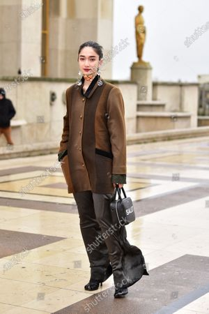 Street Style at Ann Demeulemeester show