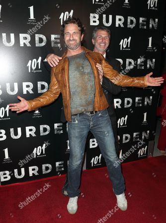 Gerard Butler and Andrew Heckler