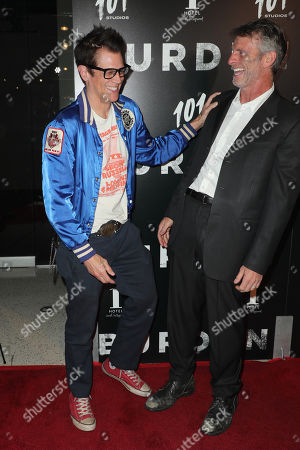 Johnny Knoxville and Andrew Heckler