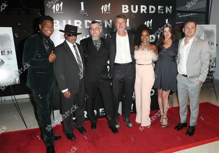 Stock Photo of Dexter Darden, Reverend Kennedy, Mike Burden, Andrew Heckler, Crystal R. Fox, Robbie Brenner and Austin Hebert