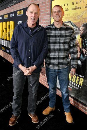 Stock Photo of Brian Helgeland and Martin Helgeland