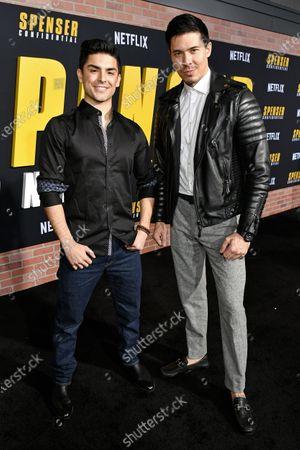 Diego Tinoco and Lewis Tan