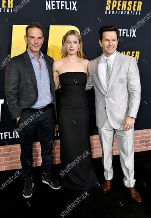 Peter Berg, Iliza Shlesinger and Mark Wahlberg
