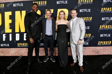 Winston Duke, Peter Berg, Iliza Shlesinger and Mark Wahlberg