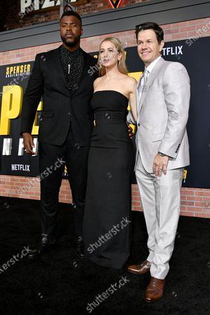 Winston Duke, Iliza Shlesinger and Mark Wahlberg