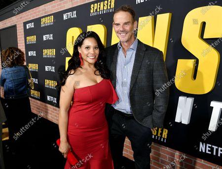 Leah Procito and Peter Berg