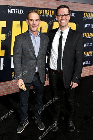 Peter Berg and John Logan Pierson