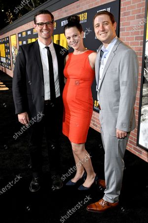 Stock Image of John Logan Pierson, Toby Ascher and guest