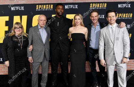 Editorial image of 'Spenser Confidential' film premiere, Arrivals, Regency Village Theatre, Los Angeles, USA - 27 Feb 2020