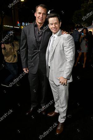 Scott Stuber and Mark Wahlberg