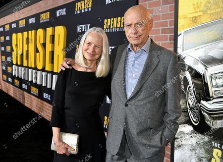 Stock Photo of Suzanne Newlander Arkin and Alan Arkin