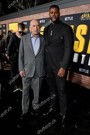 Alan Arkin and Winston Duke