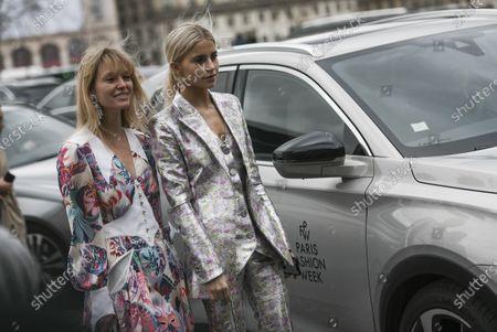 Jeanette Madsen and Caroline Daur