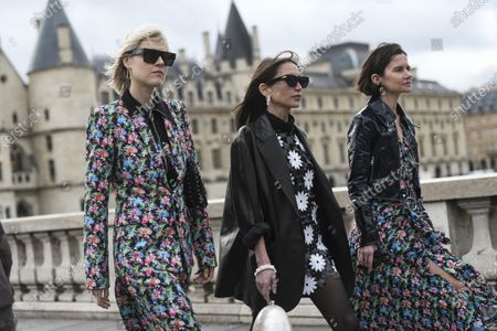 Linda Tol, Chloe Harrouche and Marta Cygan