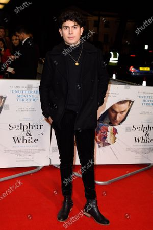 Editorial picture of 'Sulphur And White' film premiere, Curzon Mayfair, London, UK - 27 Feb 2020