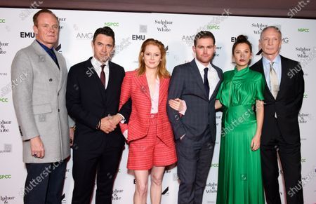 Alistair Petrie, Dougray Scott, Emily Beecham, Mark Stanley, Anna Friel and David Tait