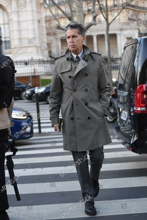 Editorial photo of Street Style, Fall Winter 2020, Paris Fashion Week, France - 27 Feb 2020