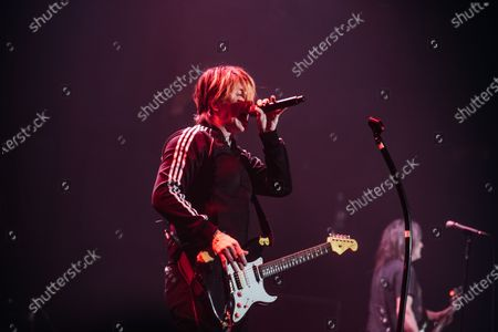 Editorial image of Goo Goo Dolls in concert at the Roundhouse, London, UK - 27 Feb 2020