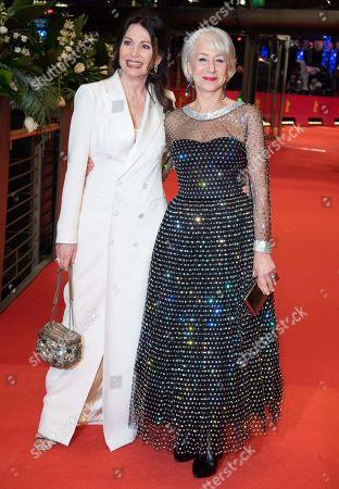 Iris Berben and Helen Mirren