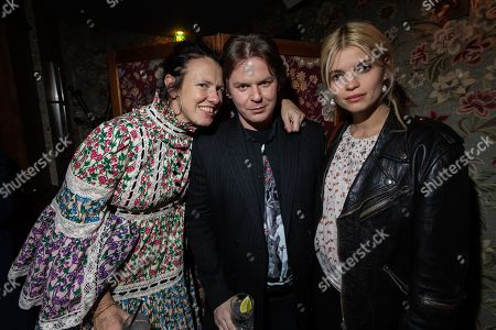 Katie Grand, Christopher Kane and Pixie Geldof