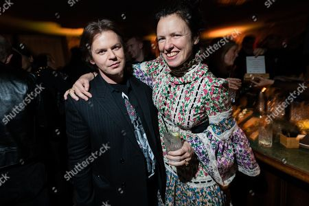 Stock Photo of Christopher Kane and Katie Grand