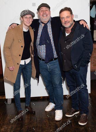Jamie Borthwick, Cliff Parisi and John Thomson
