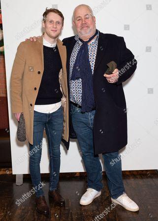Jamie Borthwick and Cliff Parisi