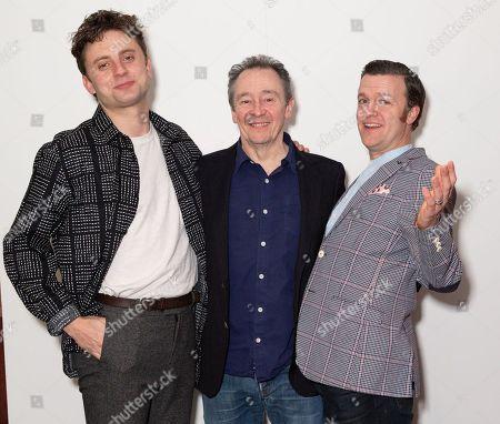 Ryan Hutton, Paul Whitehouse and Tom Bennett