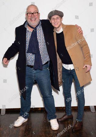 Cliff Parisi and Jamie Borthwick