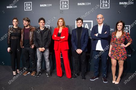 Editorial picture of 'The Making of Marc Marquez' documentary premire, Arrivals, Callao Cinema, Madrid, Spain - 27 Feb 2020