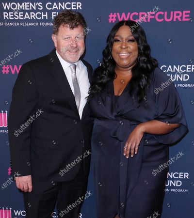 Stock Image of James Welsh and Loni Love