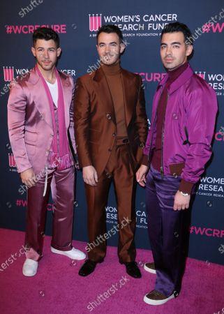 Nick Jonas, Kevin Jonas and Joe Jonas - The Jonas Brothers